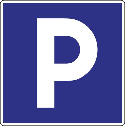 Panneaux d'indication Galva Parking (photo)