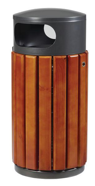 Corbeilles en bois Corbeille à poser 40 l et 60 l (photo)