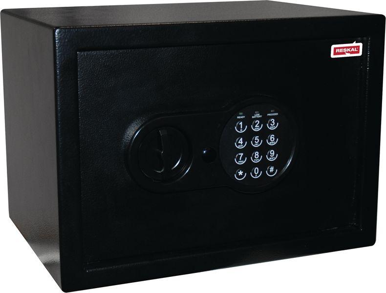 Coffre de sécurité à ouverture électronique ou à clés (photo)