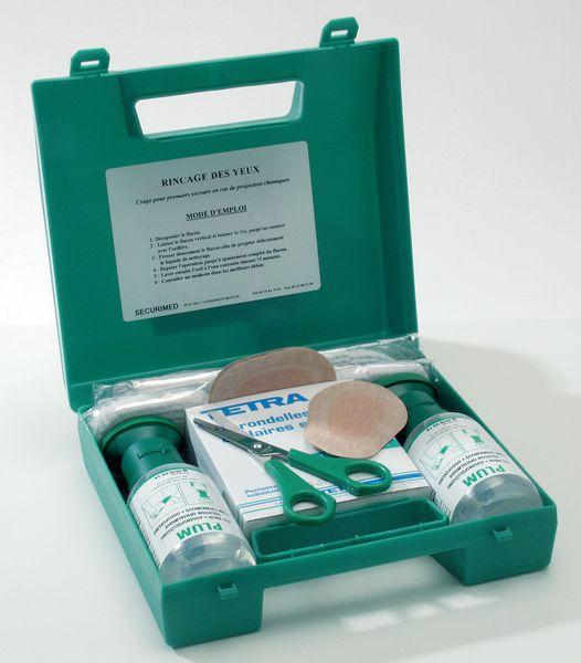 Coffret de rinçage Solution saline/neutre