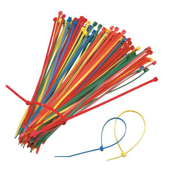 Colliers de serrage couleur - par 100 (photo)