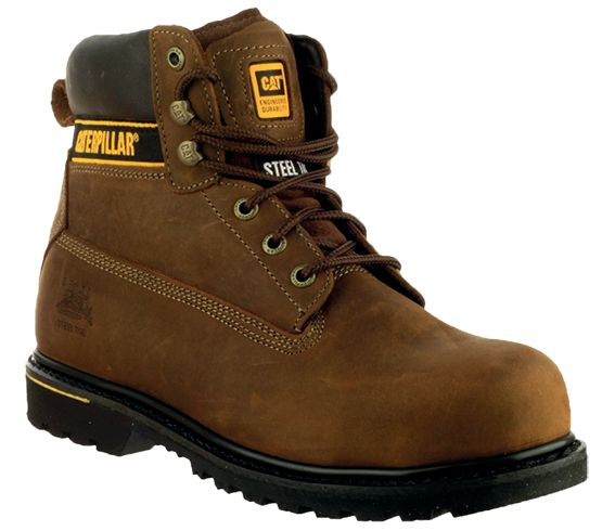 Chaussures de sécurité Holton® Caterpillar® S3 HRO SRC (photo)