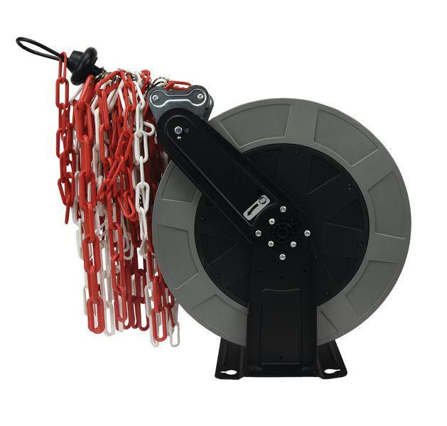 Dérouleur de chaîne à rappel automatique (photo)