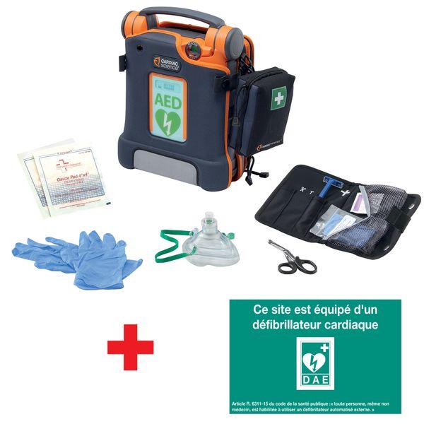 Pack complet défibrillateur automatique