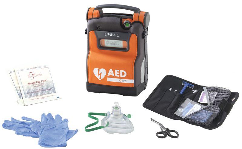 Défibrillateur cardiaque Powerhaert® G5 Kit accessoires