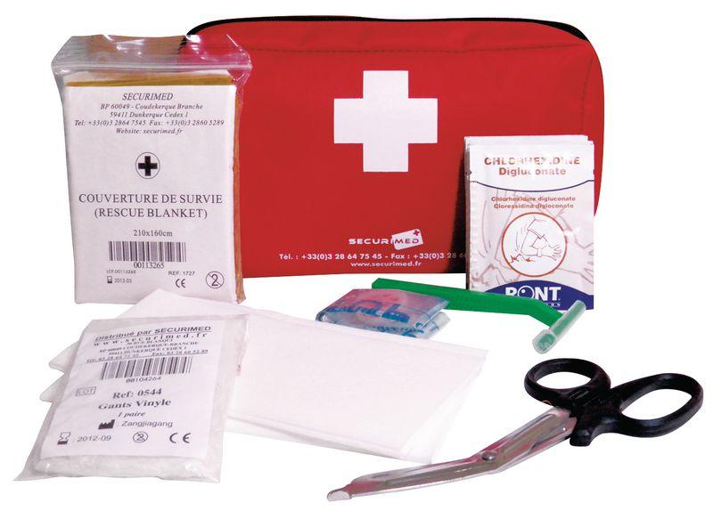 Kit complet de réanimation par défibrillateur (photo)