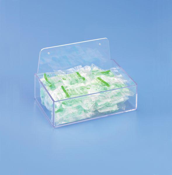 Boîtes pour le rangement des protections auditives (photo)