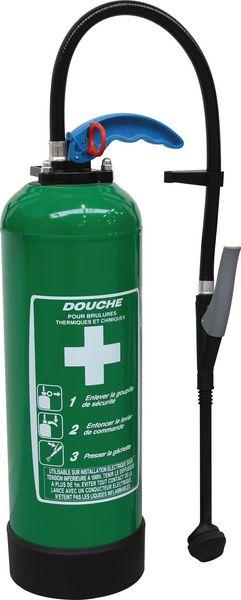 Recharge CO2 pour douche portative (photo)