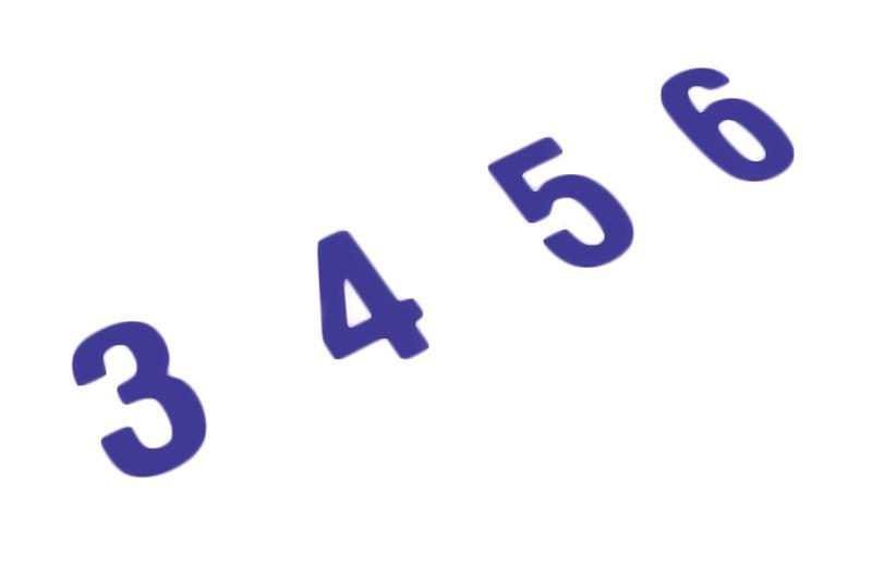 Signes haute résistance lettres et chiffres