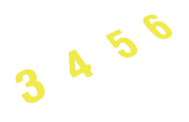 Signes haute résistance lettres et chiffres (photo)