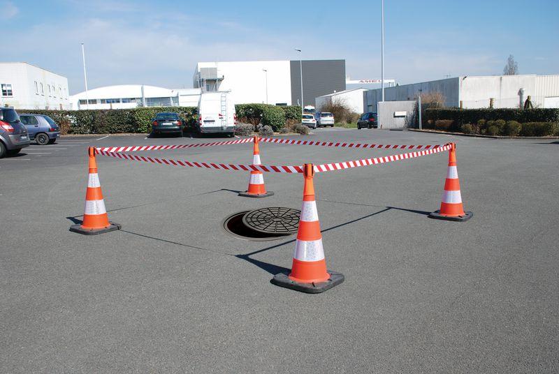 Enrouleur longueur 3 m pour cône