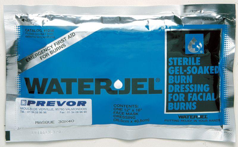 Produits de soin aux brûlures Water Jel