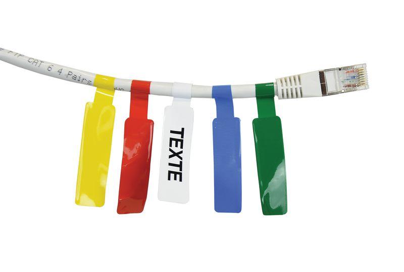 Etiquettes pour le marquage de câbles