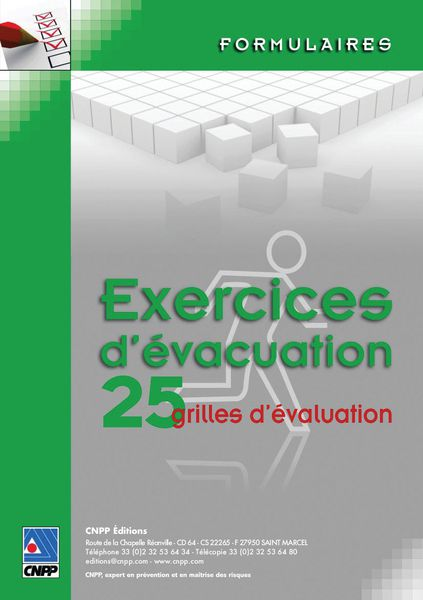 Exercices d'évacuation (photo)