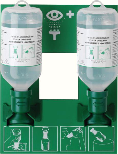 Lavage oculaire solution saline Plum Station 500 ml (photo)
