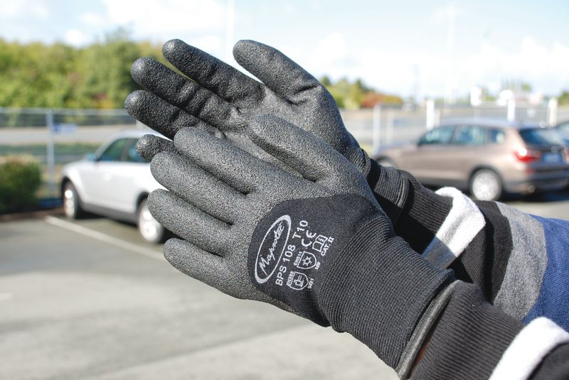 Gants confort anti-froid (photo)
