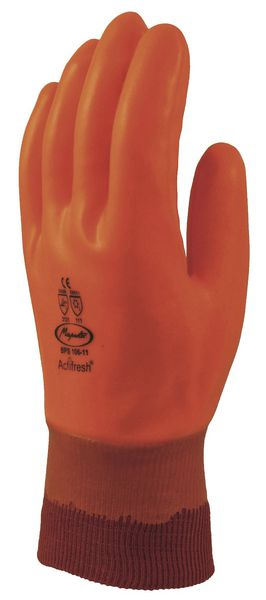 Gants Enduits PVC isolants du froid (photo)