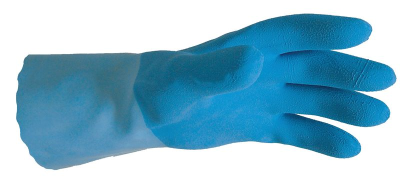 Gants latex longs