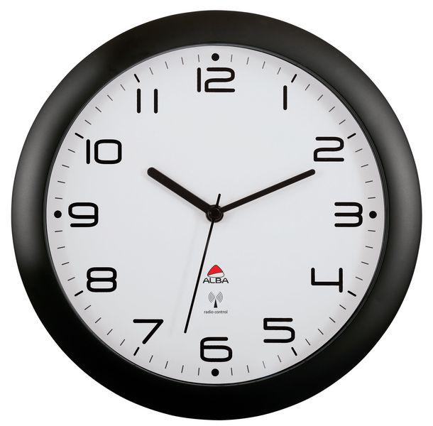 Horloge radio-pilotée diam. 30 et 38 cm (photo)