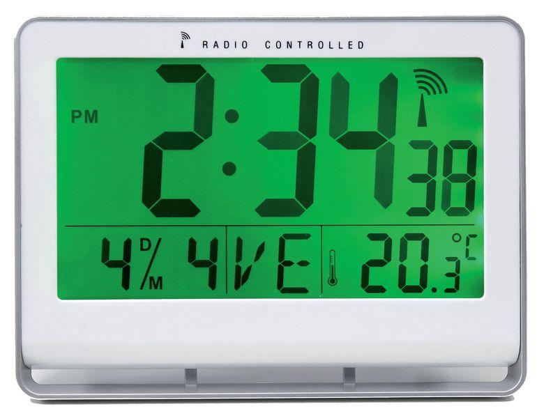 Horloge Radio-pilotée LCD (photo)