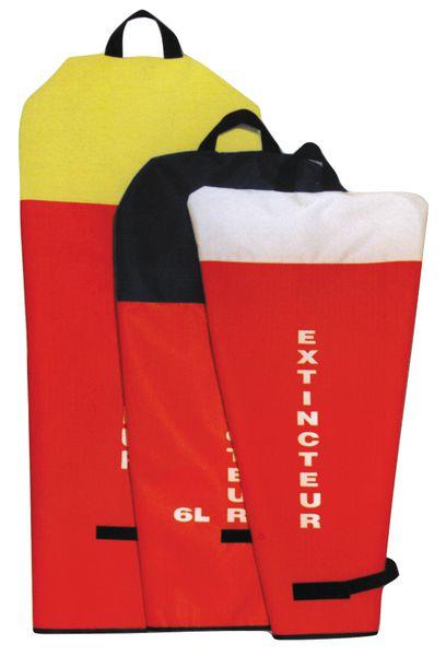 Housses pour extincteurs de couleur