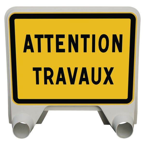 Panneau Mistral Attention travaux