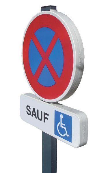 Kit de stationnement EUROP places personnes handicapées (photo)