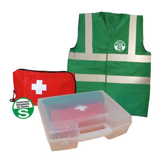 Kit spécial Sauveteur Secouriste du Travail (photo)