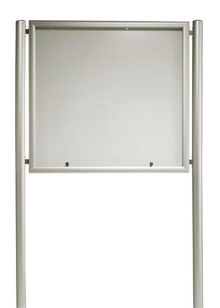 Kit de 2 poteaux pour les vitrines grands formats (photo)