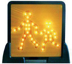 Kit panneaux transport d'enfants lumineux (photo)