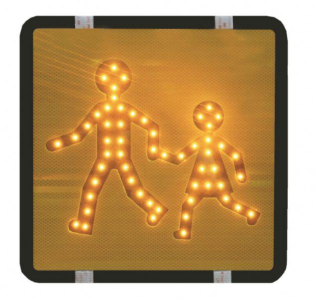 kit panneaux transport d 39 enfants lumineux signals. Black Bedroom Furniture Sets. Home Design Ideas