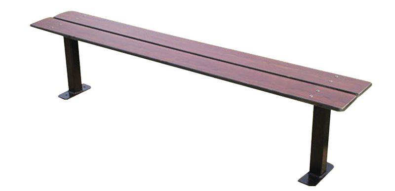 Banquette stratifiée fonte assise compact 1,80 ou 2 m