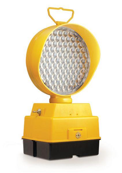 Balise de chantier avec feux LED
