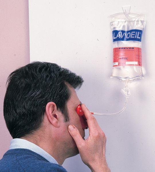 Lave-oeil portatif Diphotérine (photo)