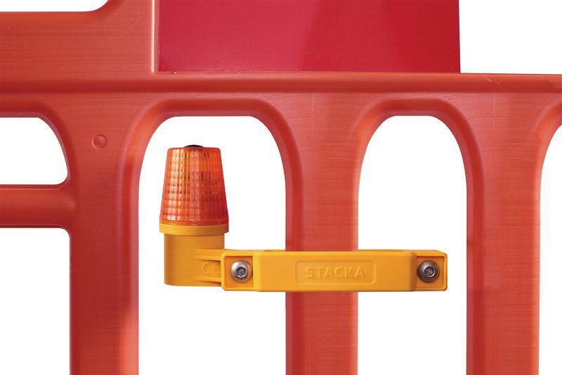 Lampes LED de sécurité pour barrières (photo)