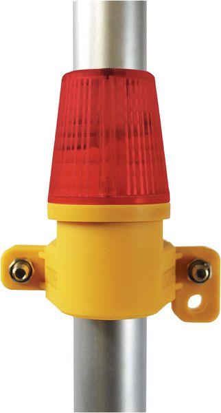 Lampes LED de sécurité clôture chantier et échafaudages (photo)
