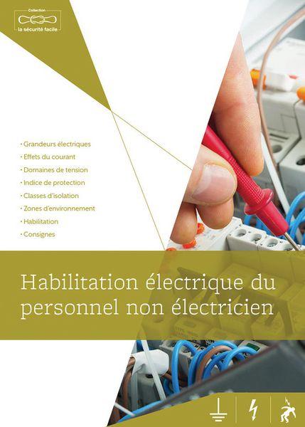 Livret habilitation électrique du personnel (photo)