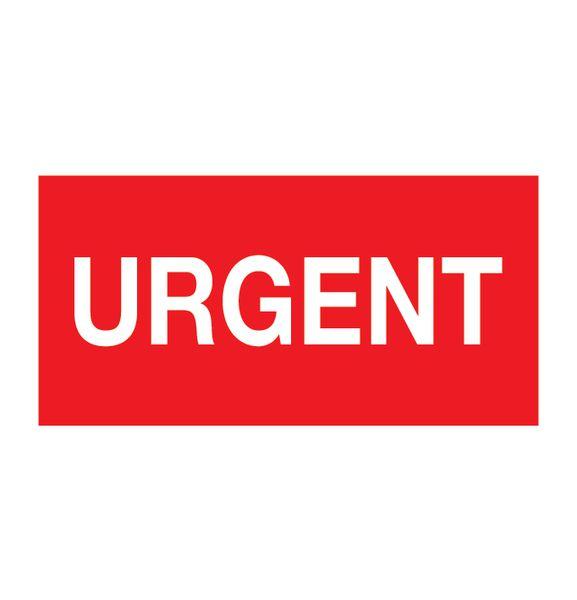 Pictogramme magnétique Urgent