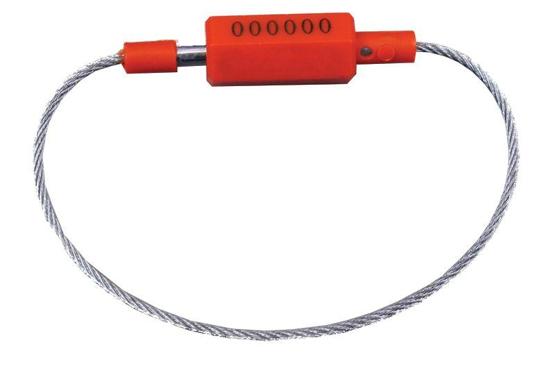 Scellés câble à fermeture serrage fixe