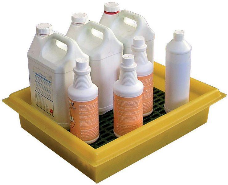 Mini bacs de rétention en polyéthylène 20 l (photo)