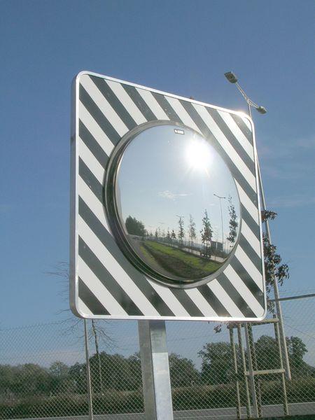 Miroir routier en Inox (photo)