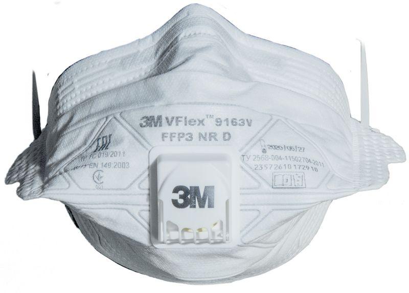 Masques économiques pliables 3M Vflex (photo)