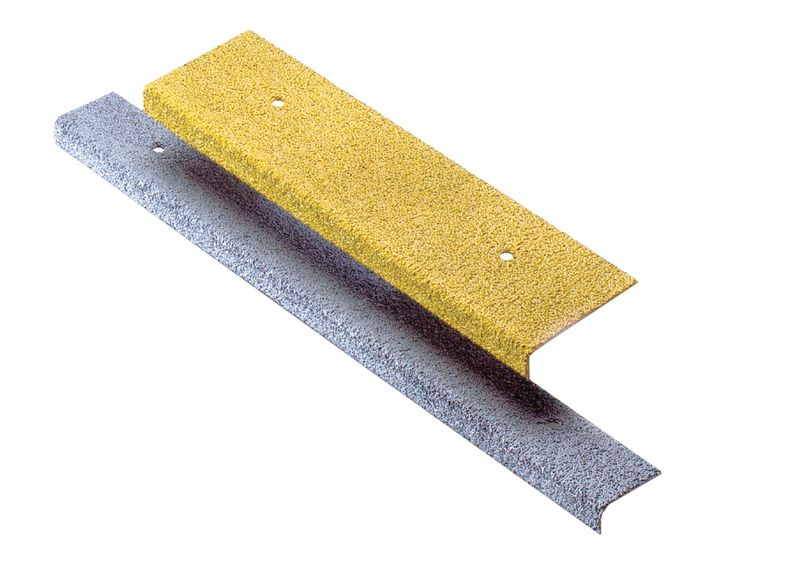 Plaques antidérapantes support acier