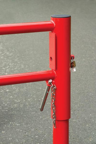 Système de fermeture pour barrière pivotante (photo)