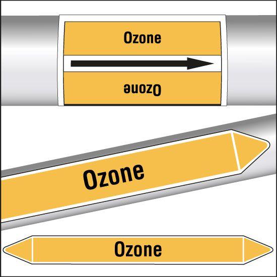 Marqueurs de tuyauterie CLP Ozone