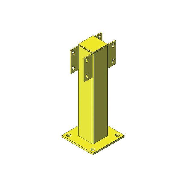 Poteaux pour rails de sécurité (photo)