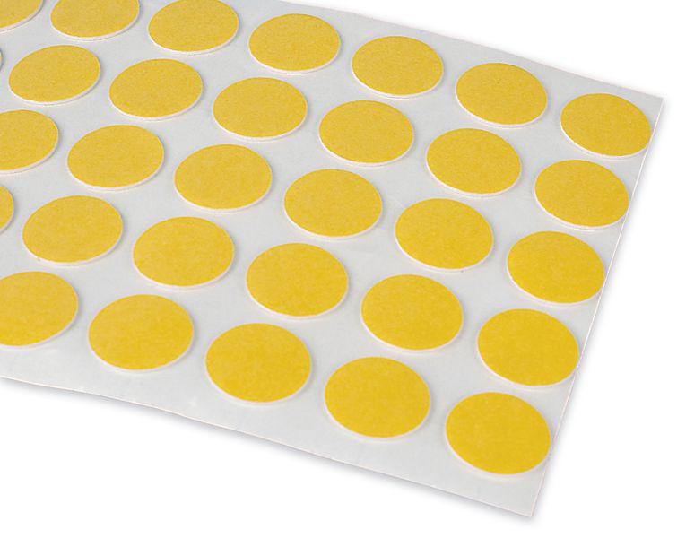 100 Pastilles Adhésives Double Face 18mm