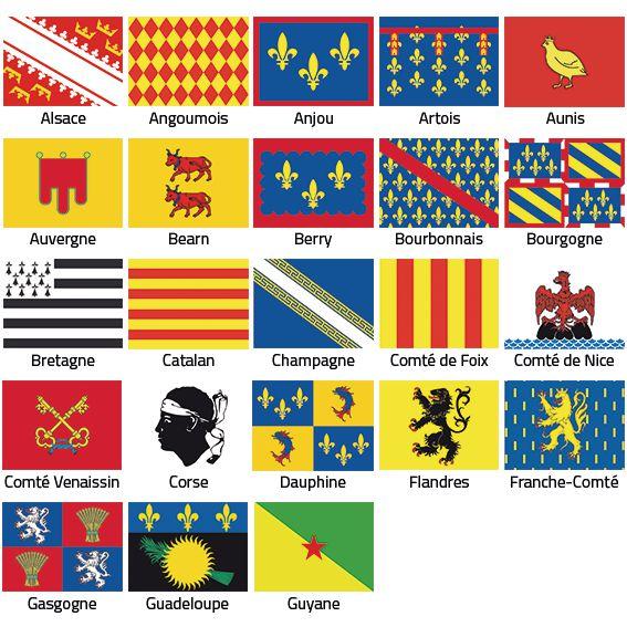 Pavillon Provinces et Régions