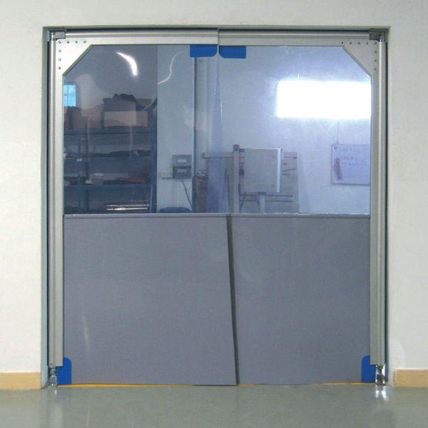 Portes battantes avec isolation phonique et thermique (photo)