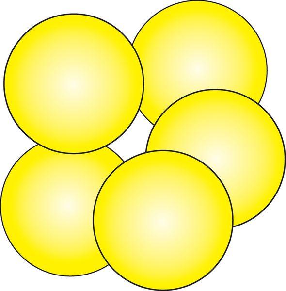 10 Pastilles de sol antidérapantes photolum Ø 75 mm (photo)